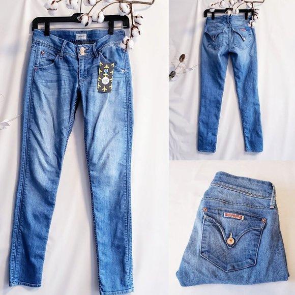 "Hudson Jeans Denim - Hudson Jeans ""Collin Flap Skinny"" size 25🐝💋"